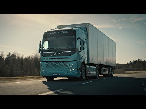 Volvo Trucks – New Heavy-duty Electric Concept Trucks For Construction And Regional Transport