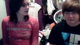 alahna and christian singing lost in paradise by evanescence
