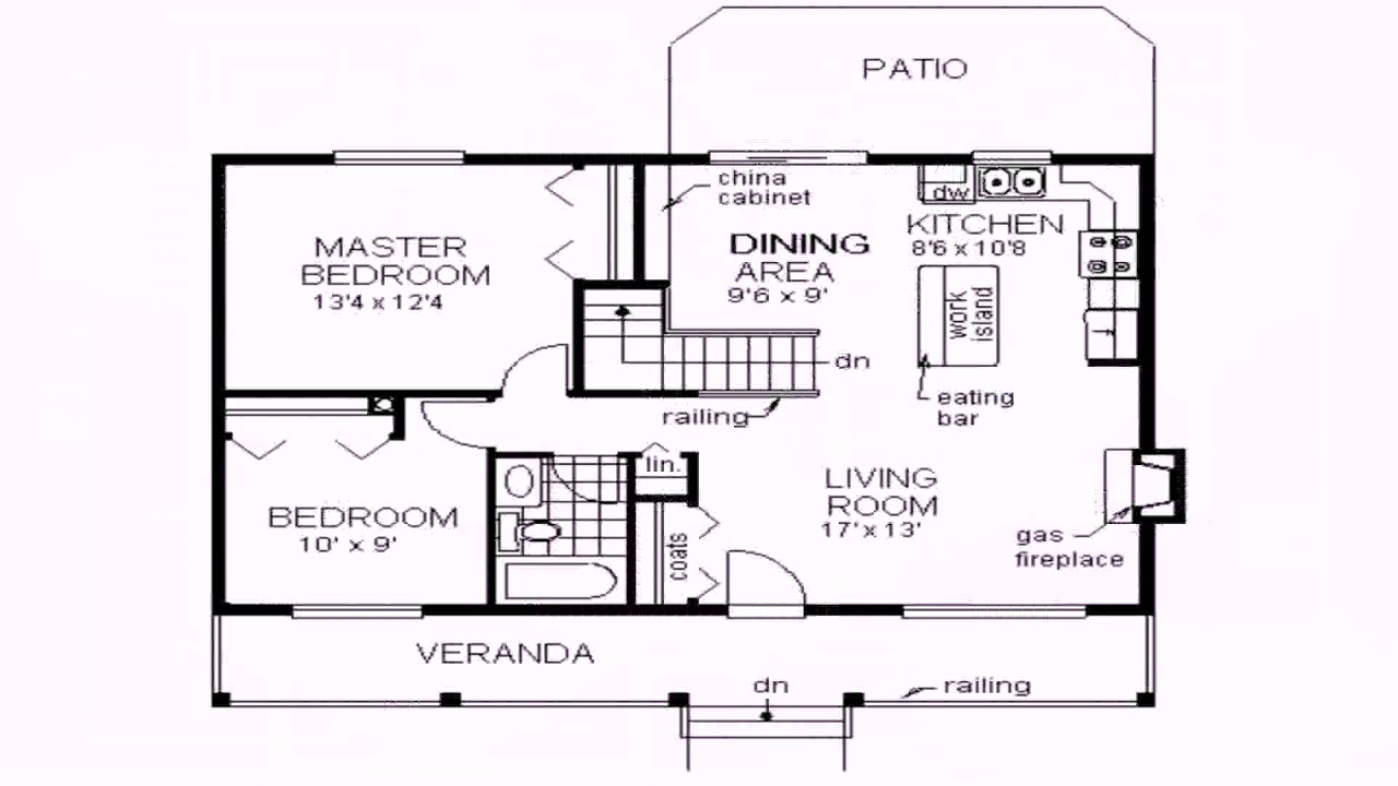 3 Bedroom House Plans 1100 Sq Ft See Description Youtube