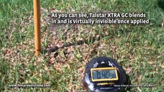 A Fire Ant Treatment in Ten Minutes Using Talstar® XTRA GC granular insecticide.