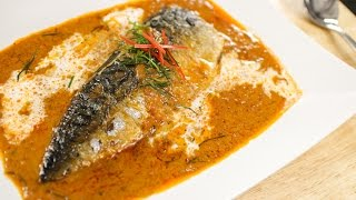Mackerel in Thai Red Curry Recipe (Choo Chee) ฉู่ฉี่ - Hot Thai Kitchen