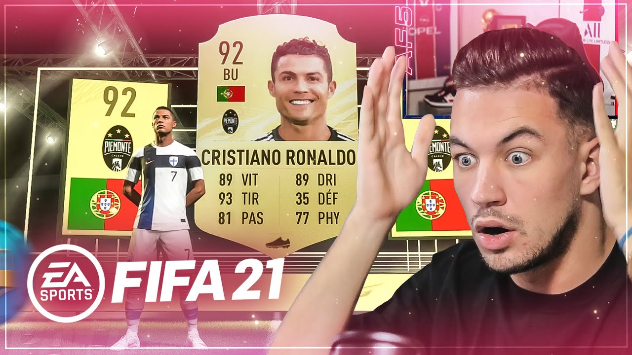 ON PACK DEJA CR7 SUR FIFA21 !!! FUT AVEC 0€ #2