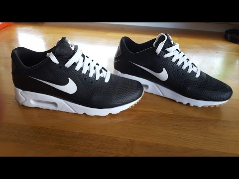 fd75461a60 Nike Air Max 90 Ultra Essential Black & White Oreo Sneaker Review by Killer  Shoes