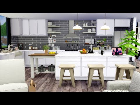 The Sims 4   Bali Modern Beach House   House Speed Build + Download links