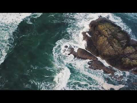 Gentle Chimes By The Sea | Ocean Waves | Healing Therapy | Sleep Spa