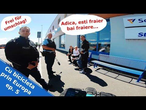 Cum sunt politistii in Germania - CU BICICLETA PRIN EUROPA EP. 5