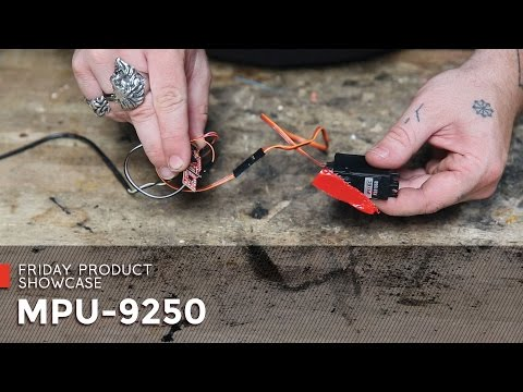 SparkFun MPU-9250 - YouTube