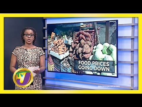 Jamaicans See Drop in Food Prices | TVJ News
