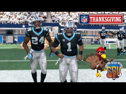 Madden 16 (Xbox One) - NFL Thanksgiving Day Sim: Cowboys vs Panthers