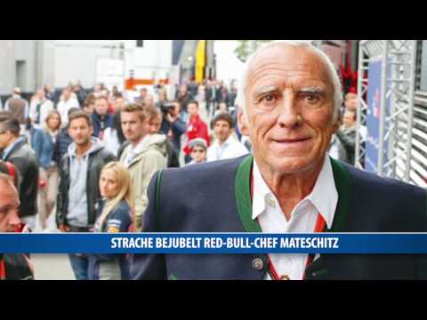 Strache bejubelt Red-Bull-Chef Mateschitz