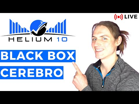 💸LIVE Amazon FBA PRODUCT RESEARCH | Advanced Niche Opportunities | Helium 10 Black Box + Cerebero