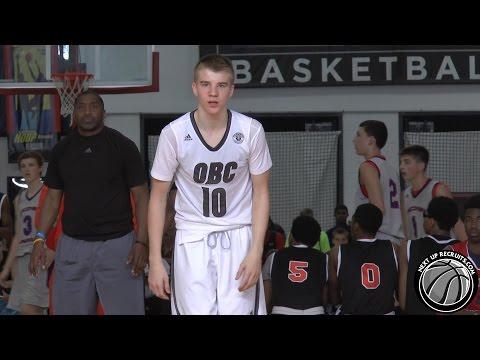 Justin Ahrens is a versatile Freshman SF than can SHOOT - Ohio Basketball Club 2018