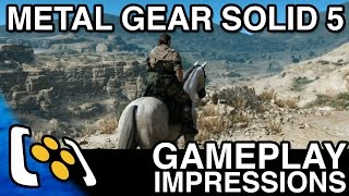 Metal Gear Solid 5: The Phantom Pain Gameplay Impressions - The First 13 Hours