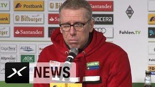 Peter Stöger nach Borussia Mönchengladbach vs. 1. FC Köln (1. Bundesliga, 2015/16)