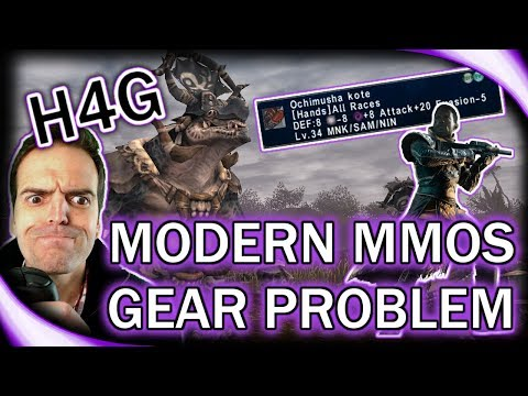 The Problem With Equipment In MMOs - Loot Vs Gear!
