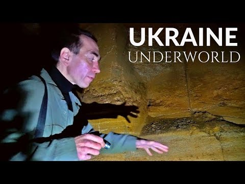 EXPLORING CATACOMBS OF UKRAINE
