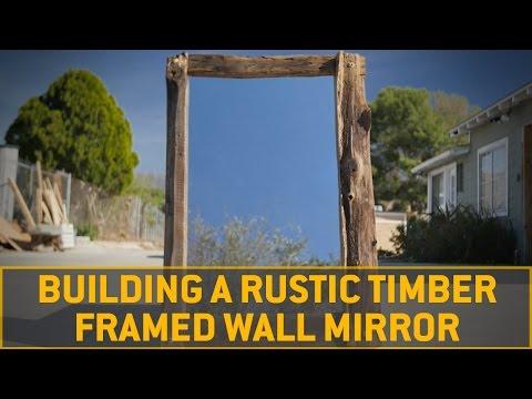 DIY Timber Framed Mirror