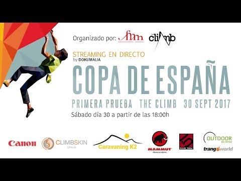 COPA ESPAÑA BLOQUE 2017 EN THE CLIMB