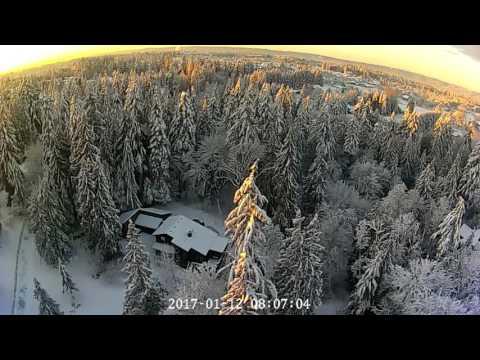 Vancouver WA 2017 Snowstorm Sunset