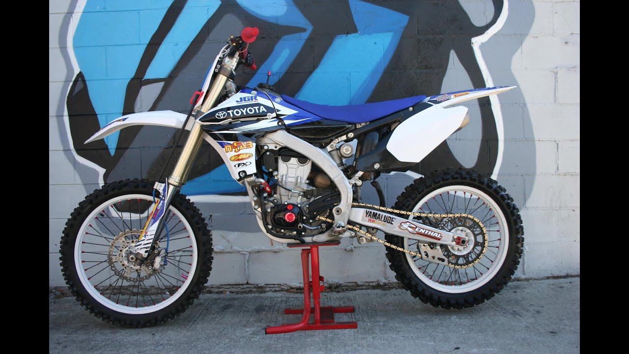 2011 Yamaha YZ450 Motorcycle For Sale - YouTube