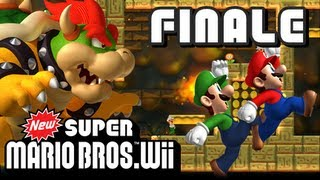 New Super Mario Bros Wii - (1080p) Part 18 - Bowser's Castle FINALE