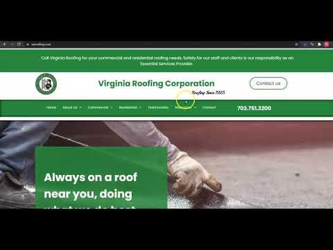 Best Roofing of Virginia, Inc. | Website Review