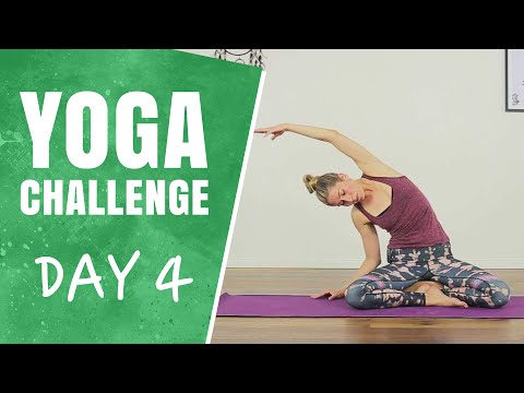 Yoga for Great Posture | Day 4 | 30 Days of Yoga Challenge