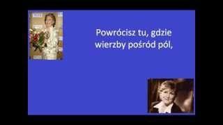 Irena Santor - Powrócisz tu (lyrics)