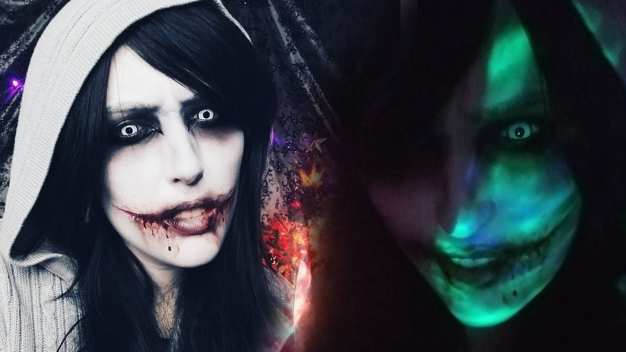 jeff the killer creepypasta makeup tutorial youtube