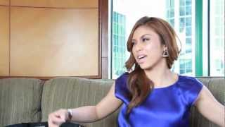 mizz nina talks with 17 magazine about mtv world stage 2012 live in malaysia