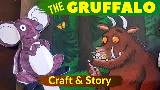The Gruffalo Story |  Gruffalo Storytelling | Story for Kids using Props