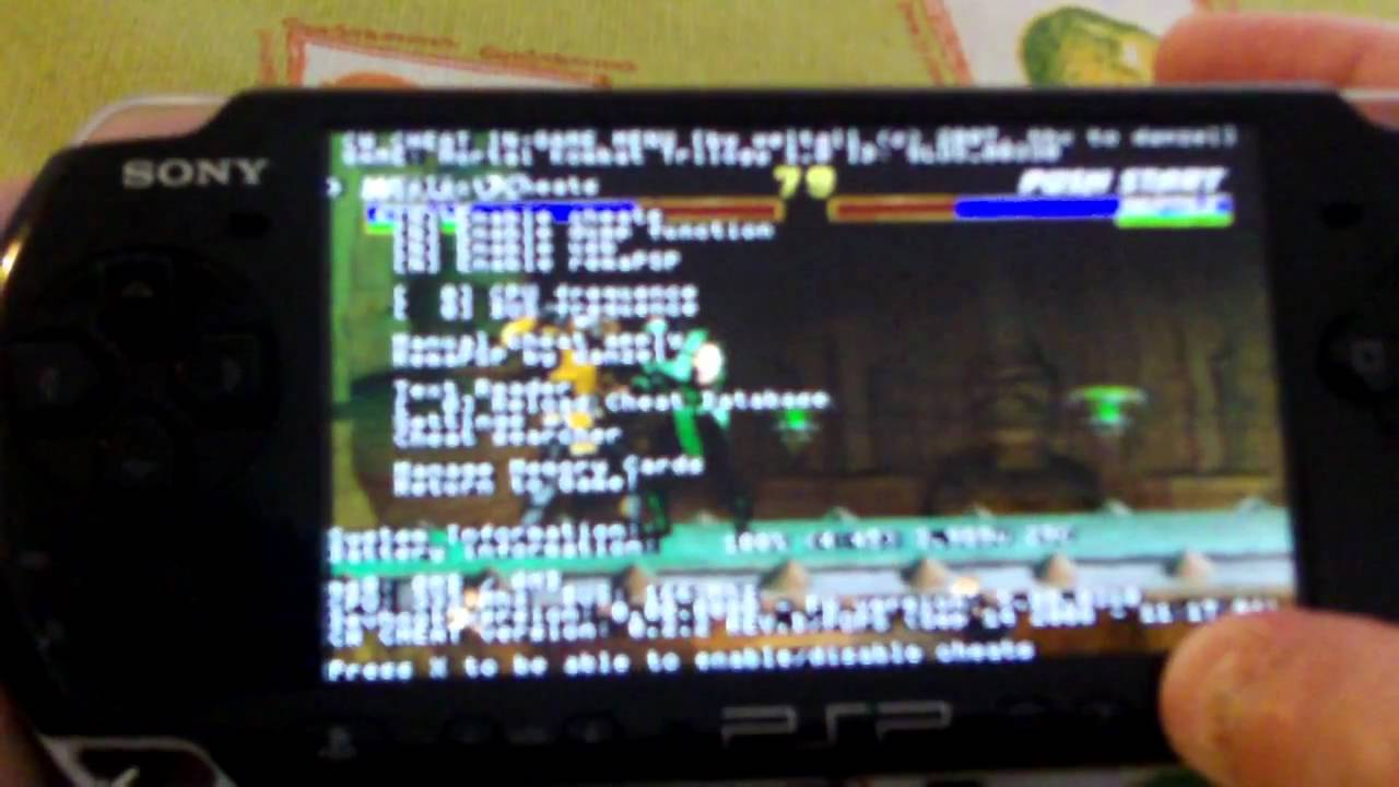 GUIDE Install CWCHEAT and Make Cwcheat Codes
