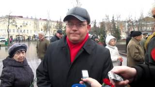 Выступление депутата от КПРФ Лескина День рождения Ленина 2017