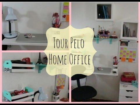 home office diy. Tour Pelo Home Office , Dica De Decoração, DIY Por Quel Guimarães - YouTube Diy S