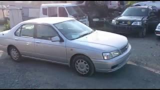 Видео-тест автомобиля Nissan Bluebird (QU14-019498, Qg18de, серебро, 2000г)