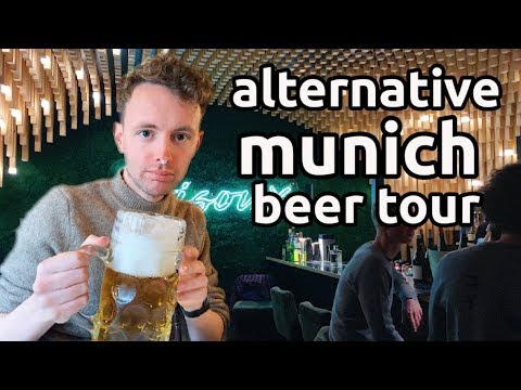 Best Places To Drink In Munich | Alternative Beer Tour | München Vlog