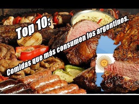 Top 10: comidas más consumidas en Argentina.