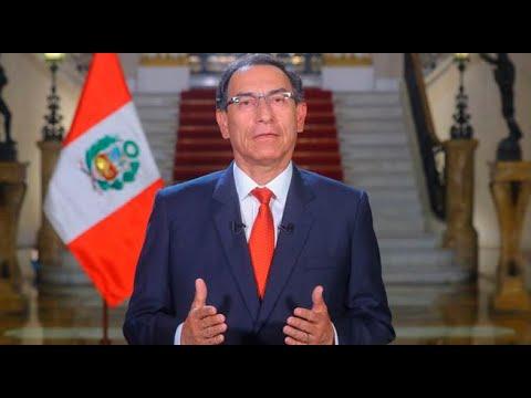 Martín Vizcarra planteó cuestión de confianza por reformas constitucionales | Mensaje a la Nación