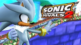 Sonic Rivals 2 - Blue Coast Zone Act 1 - Silver VS Shadow [HD 60 fps]