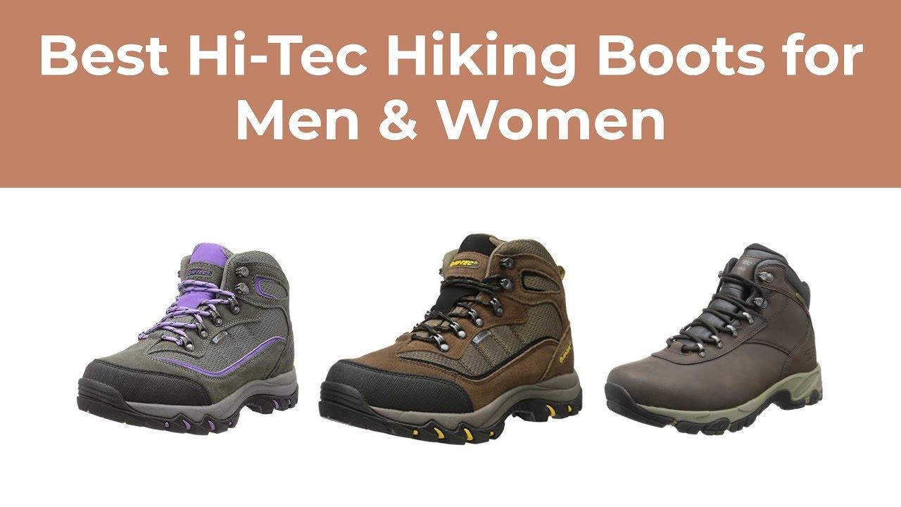 Best Hi Tec Hiking Boots for Men