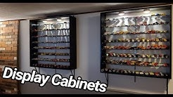 How I built custom, model car, display cabinets - Step by Step