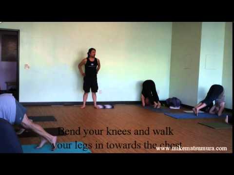 Mike Matsumura - Pranava Yoga Center - Headstand How to PART 1