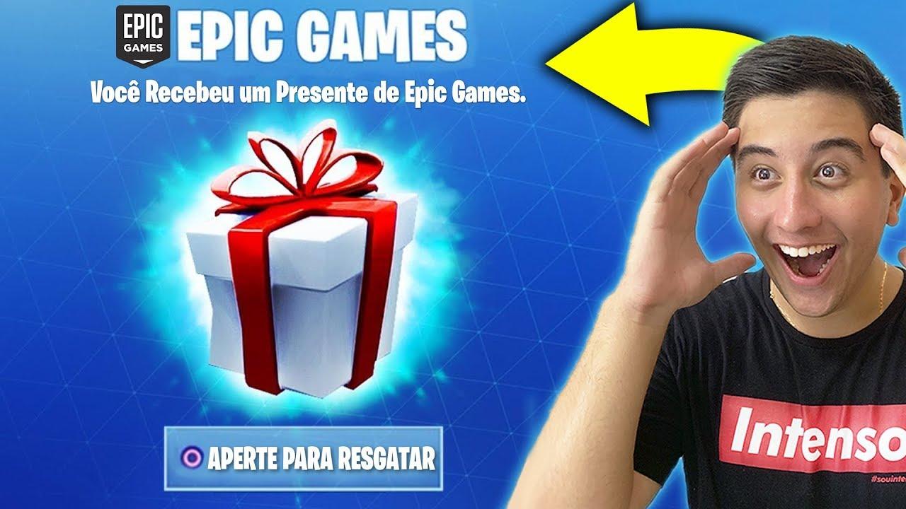 EPIC GAMES me Enviou um Pacote SECRETO no Fortnite.. (Skin ...