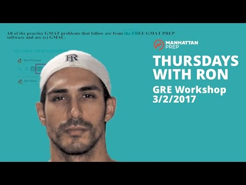 Thursdays with Ron GMAT Workshop - 3/2/2017 - Integrated Reasoning