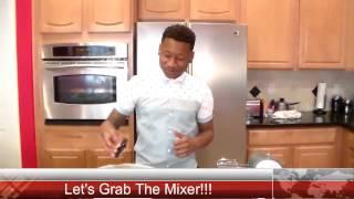 "Strawberry Cake From Scratch ""sin City Chef Boy Episode 3"""