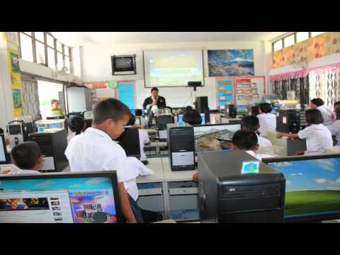 โรงเรียนชุมชนบ้านสองชั้นวีดีทัศCAI.wmv