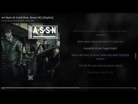 AK Ausserkontrolle - Jim Beam & Voddi [feat. Bonez MC] | Lyrics