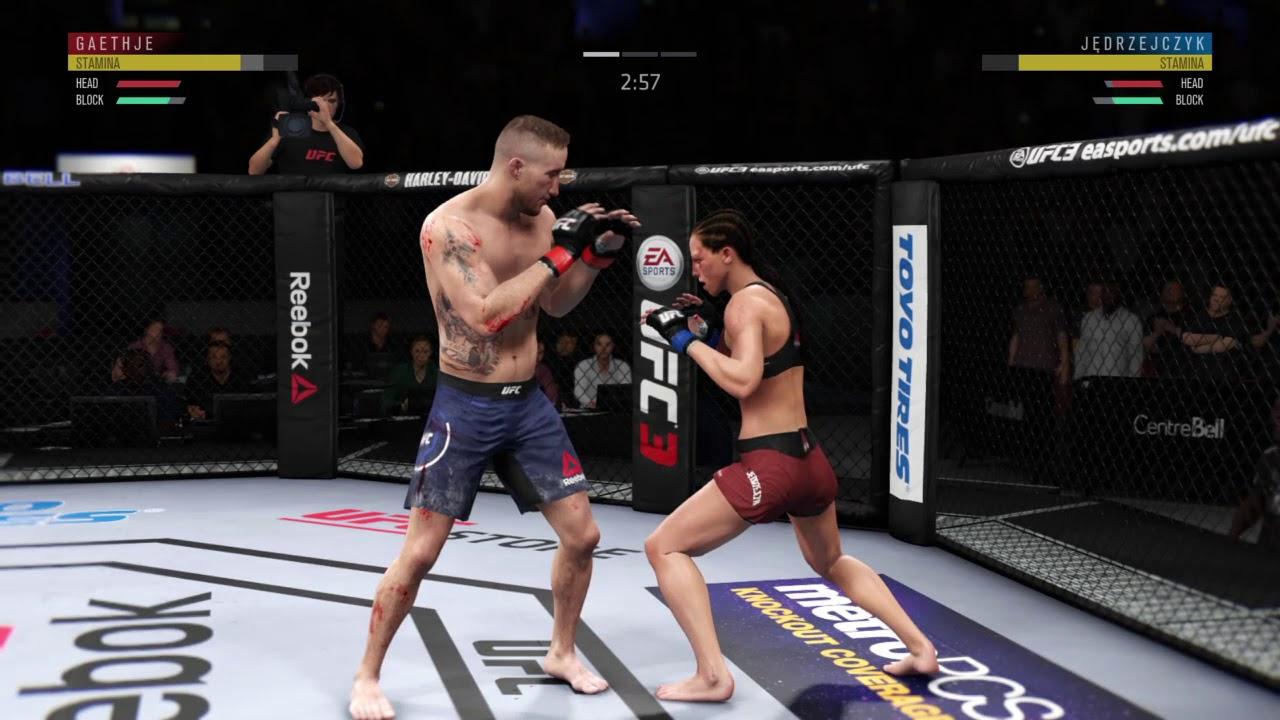 EA Sports UFC 2 - Cláudia Gadelha vs Joanna Jędrzejczyk