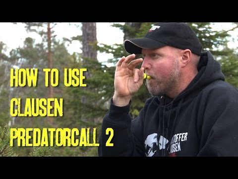 How to use Clausen Predatorcall 2. By Kristoffer Clausen