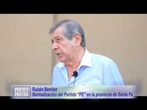 """Normalización del Partido """"FE"""" en la provincia de Santa Fe. Rubén Benítez."""